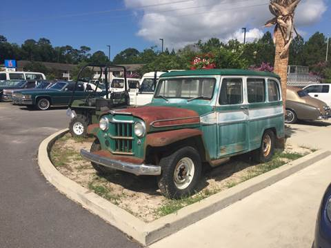 1963 Willys Station Wagon for sale at Gulf Shores Motors in Gulf Shores AL