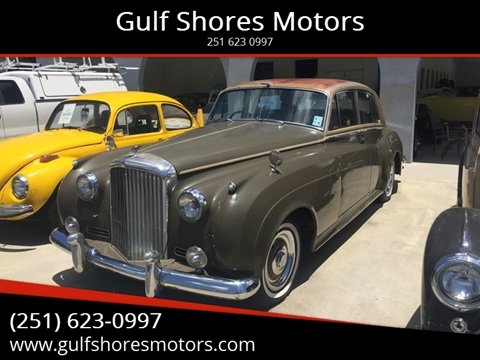 1956 Bentley S2 for sale at Gulf Shores Motors in Gulf Shores AL