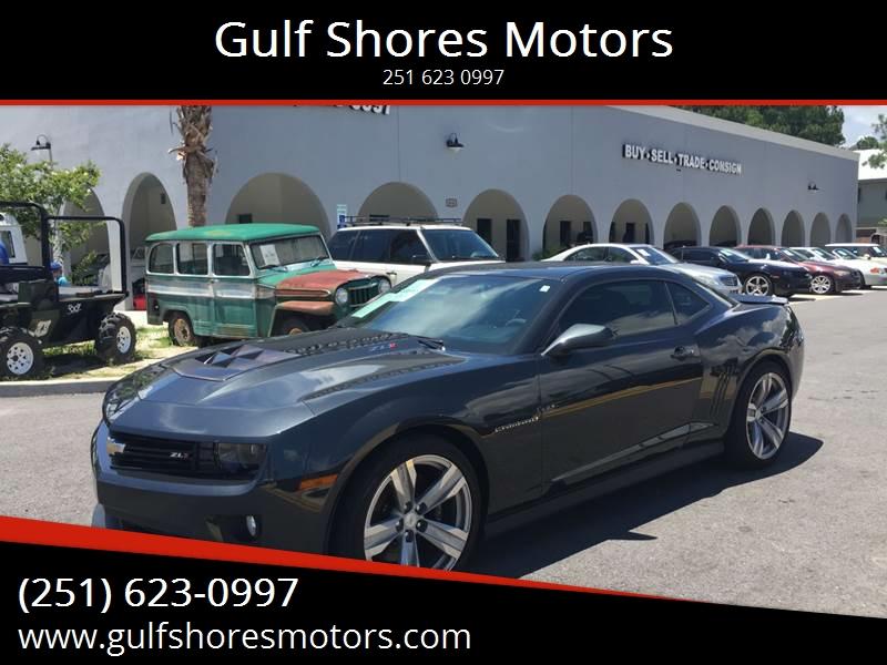 2012 Chevrolet Camaro Zl1 In Gulf Shores Al Gulf Shores Motors