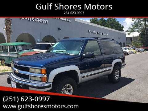 1994 Chevrolet Blazer for sale at Gulf Shores Motors in Gulf Shores AL