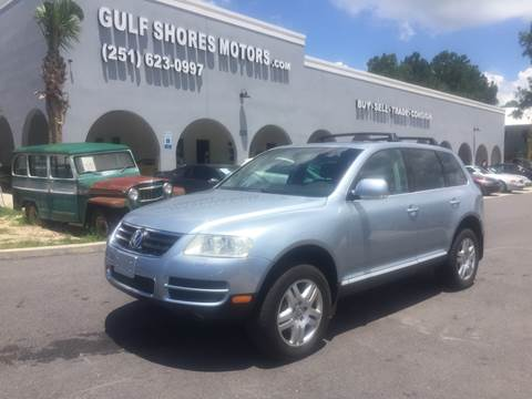 2004 Volkswagen Touareg for sale at Gulf Shores Motors in Gulf Shores AL
