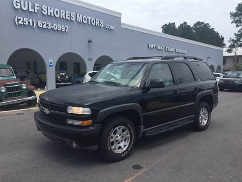 2001 Chevrolet Tahoe for sale at Gulf Shores Motors in Gulf Shores AL