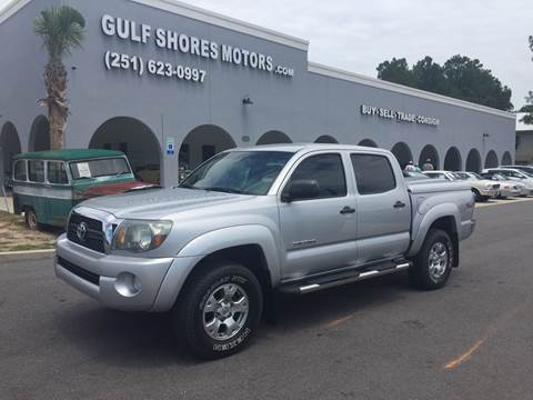 2011 Toyota Tacoma for sale at Gulf Shores Motors in Gulf Shores AL