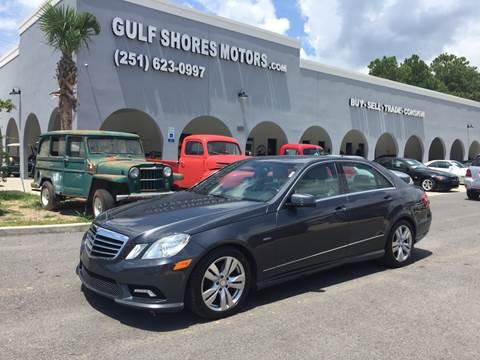 2011 Mercedes-Benz E-Class for sale at Gulf Shores Motors in Gulf Shores AL