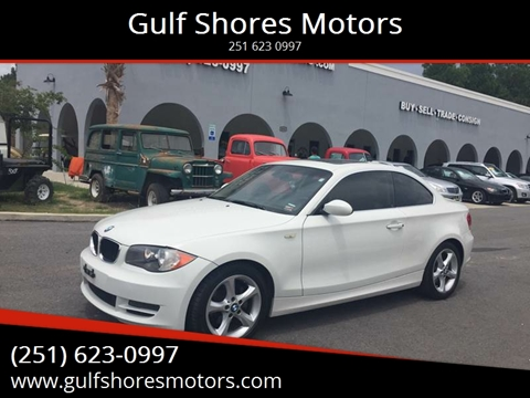 2008 BMW 1 Series for sale at Gulf Shores Motors in Gulf Shores AL