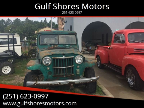 1954 Jeep Willys for sale at Gulf Shores Motors in Gulf Shores AL