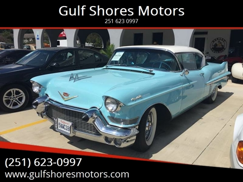 1957 Cadillac DeVille for sale at Gulf Shores Motors in Gulf Shores AL
