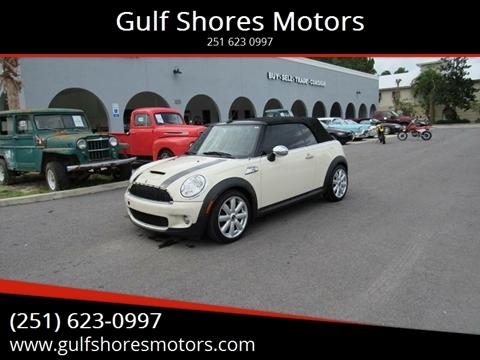 2010 MINI Cooper for sale at Gulf Shores Motors in Gulf Shores AL