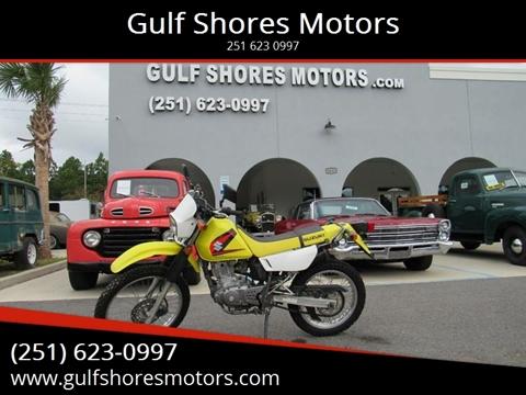 2005 Suzuki DR 200 for sale at Gulf Shores Motors in Gulf Shores AL