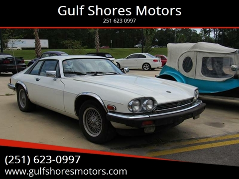 1989 Jaguar XJ-Series for sale at Gulf Shores Motors in Gulf Shores AL