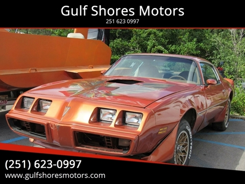 1980 Pontiac Trans Am for sale in Gulf Shores, AL