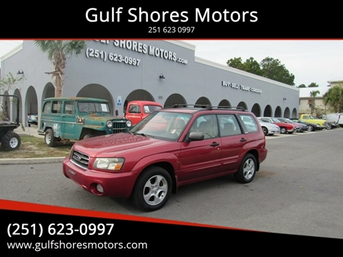 2003 Subaru Forester for sale at Gulf Shores Motors in Gulf Shores AL