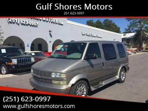 2005 Chevrolet Astro for sale at Gulf Shores Motors in Gulf Shores AL