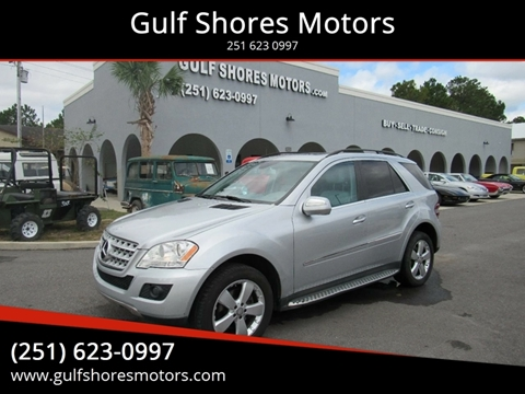 2010 Mercedes-Benz M-Class for sale at Gulf Shores Motors in Gulf Shores AL