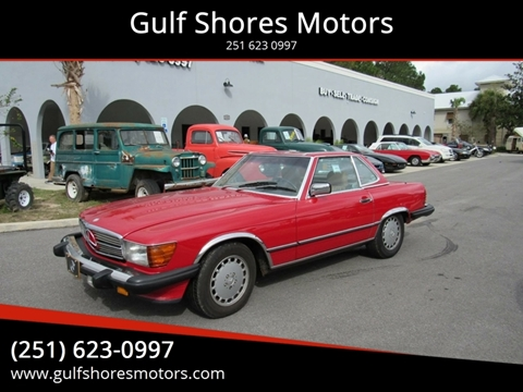 1987 Mercedes-Benz 560-Class for sale at Gulf Shores Motors in Gulf Shores AL