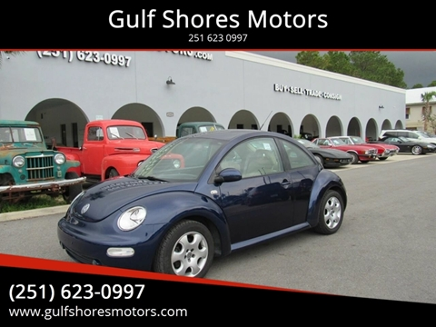 2002 Volkswagen New Beetle for sale at Gulf Shores Motors in Gulf Shores AL