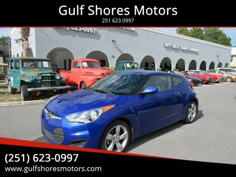 2012 Hyundai Veloster for sale at Gulf Shores Motors in Gulf Shores AL