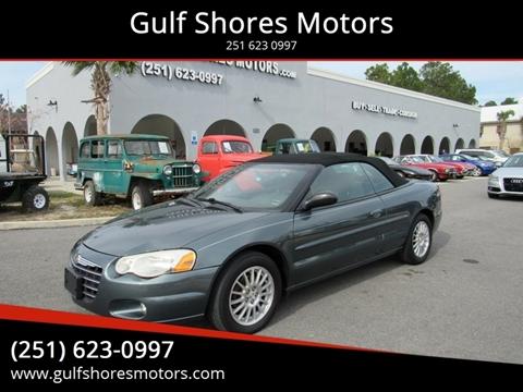 2006 Chrysler Sebring for sale at Gulf Shores Motors in Gulf Shores AL