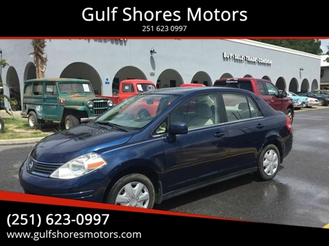 2009 Nissan Versa for sale at Gulf Shores Motors in Gulf Shores AL