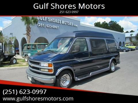1999 Chevrolet Expresss g 1500 for sale at Gulf Shores Motors in Gulf Shores AL