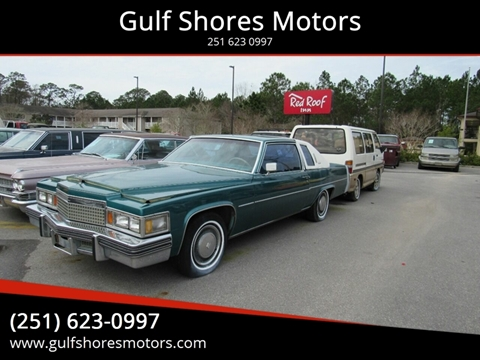 1979 Cadillac DeVille for sale at Gulf Shores Motors in Gulf Shores AL