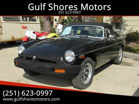 1980 MG MGB for sale in Gulf Shores, AL