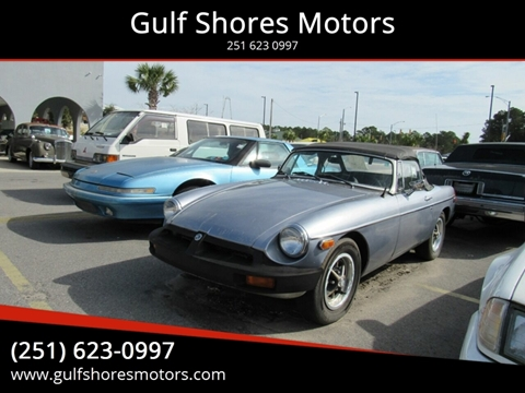1974 MG MGB for sale at Gulf Shores Motors in Gulf Shores AL