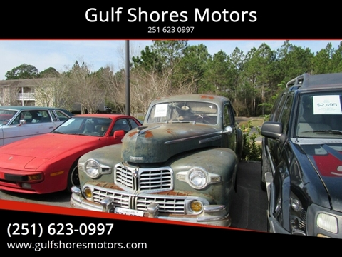 1947 Lincoln Zephyr for sale in Gulf Shores, AL