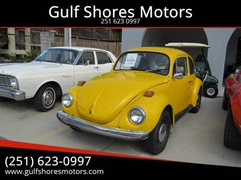 1971 Volkswagen Beetle for sale at Gulf Shores Motors in Gulf Shores AL