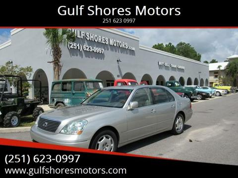 2002 Lexus LS 430 for sale at Gulf Shores Motors in Gulf Shores AL