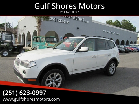 2010 BMW X3 for sale at Gulf Shores Motors in Gulf Shores AL