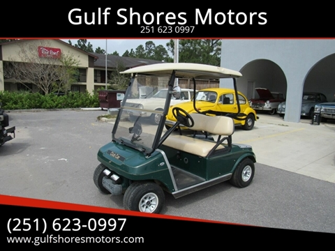Golf Car Club Car for sale at Gulf Shores Motors in Gulf Shores AL