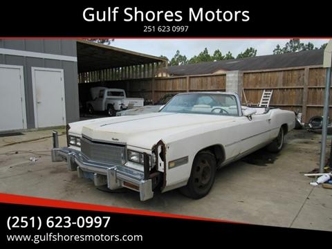 1976 Cadillac Eldorado for sale at Gulf Shores Motors in Gulf Shores AL