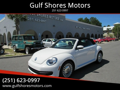 2013 Volkswagen Beetle for sale at Gulf Shores Motors in Gulf Shores AL