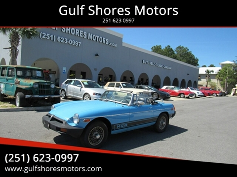 1979 MG MGB for sale in Gulf Shores, AL