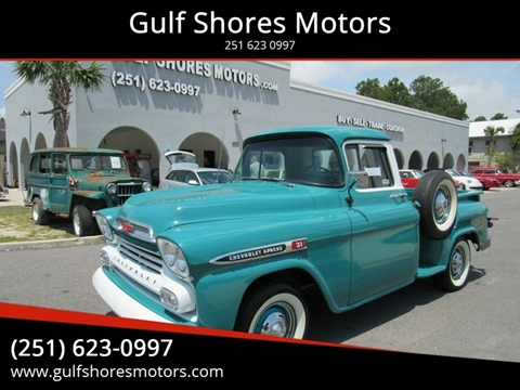 1959 Chevrolet Apache for sale in Gulf Shores, AL