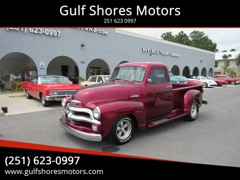 1954 Chevrolet 3100 for sale at Gulf Shores Motors in Gulf Shores AL