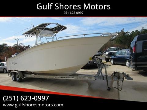 2003 CAPE HORN 27 CC BOAST for sale at Gulf Shores Motors in Gulf Shores AL