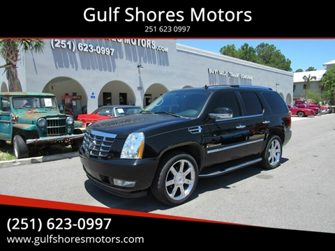 2009 Cadillac Escalade for sale at Gulf Shores Motors in Gulf Shores AL