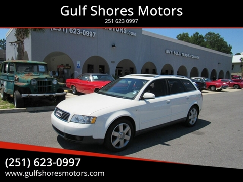 2004 Audi A4 for sale at Gulf Shores Motors in Gulf Shores AL