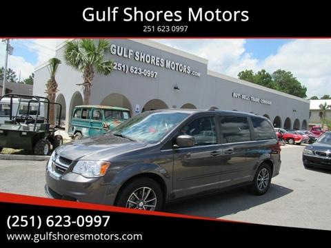 2017 Dodge Grand Caravan for sale at Gulf Shores Motors in Gulf Shores AL