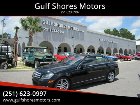 2013 Mercedes-Benz C-Class for sale at Gulf Shores Motors in Gulf Shores AL