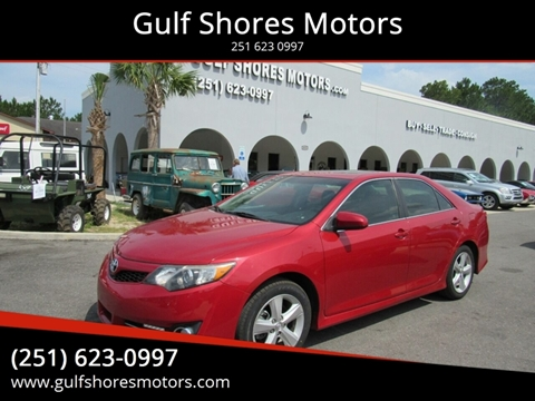 2012 Toyota Camry for sale at Gulf Shores Motors in Gulf Shores AL