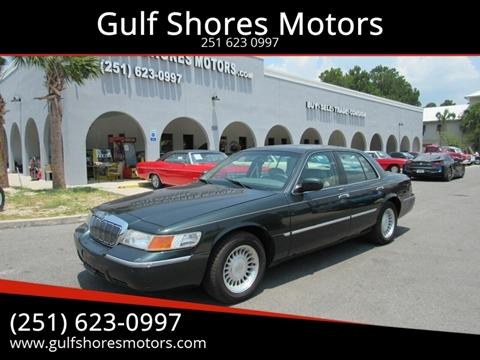 2002 Mercury Grand Marquis for sale at Gulf Shores Motors in Gulf Shores AL