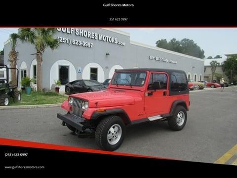 1995 Jeep Wrangler for sale in Gulf Shores, AL