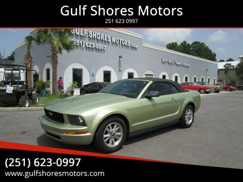 2006 Ford Mustang for sale at Gulf Shores Motors in Gulf Shores AL