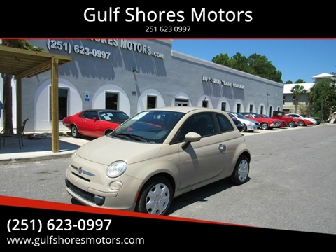2012 FIAT 500 for sale at Gulf Shores Motors in Gulf Shores AL