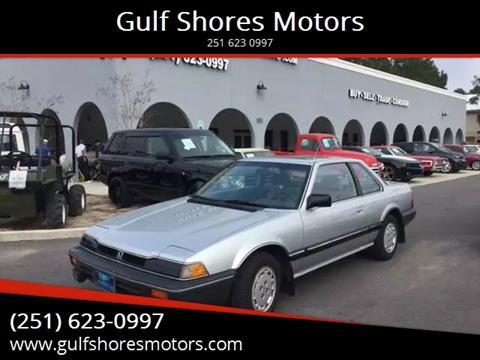 1984 Honda Prelude for sale at Gulf Shores Motors in Gulf Shores AL