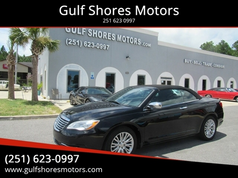 2011 Chrysler 200 Convertible for sale at Gulf Shores Motors in Gulf Shores AL