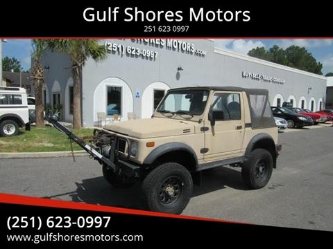 1993 Suzuki Samurai for sale in Gulf Shores, AL